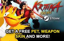 Kritika Online Gift Key Giveaway