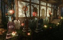Slapping Pumpkins in ArcheAge's Hallowtide Event