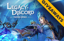Legacy of Discord Gift Key Giveaway (Android/iOS) - MMO Bomb
