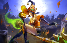 Paladins Gets Punny With The All Hallows Evie Update
