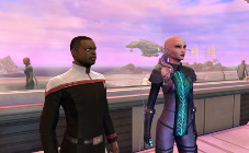Captain La Forge Returns In Star Trek Online Emergence Update