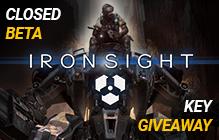 Ironsight Closed Beta Key Giveaway