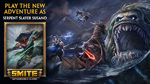 SMITE: Free Serpent Slayer Susano Key Giveaway (PC/PS4/Xbox)