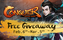 Conquer Online Gift Pack Key Giveaway
