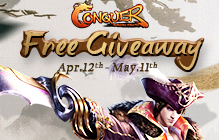 Conquer Online Surging Pirates Gift Pack Giveaway