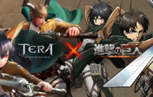 **Updated** Attack On Titan Collaboration Event Being Held On TERA Japanese Server