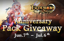 Eudemons Online Anniversary Pack Key Giveaway