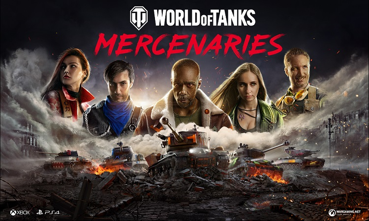 World of Tanks Mercenaries Goes Live On Consoles, And WoT: Blitz