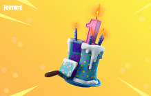 Fortnite's Celebrating Its First Birthday, And Yes, There Is Cake