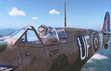 Players Can Earn An Iron Maiden-Themed Spitfire in World of Warplanes