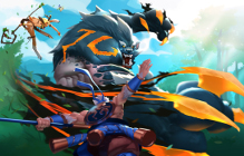 Battlerite Royale Early Access Trailer Features Werebear Transformation Item