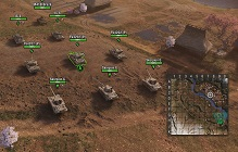 World Of Tanks: Mercenaries Implements RTS-Style Battles With Nine Tanks Per Side