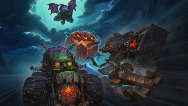 Heavy Metal Machines Receives A Late Halloween-themed Update