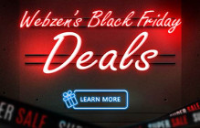 Save Up To 50% Off Store Items During Webzen's Black Friday Sale