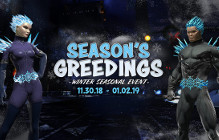 Celebrate The Holidays In DCUO With The Season's Greedings Event