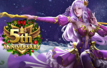 League Of Angels' 5th Anniversary Celebration Includes A New Angel, Hero, And Even Fairies