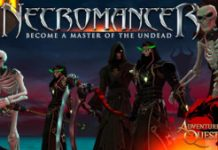 Control The Undead With AdventureQuest 3D's New Necromancer Class