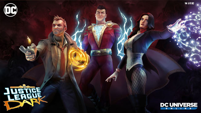 DCUO's Justice League Dark Available On Consoles And PC - MMO Bomb