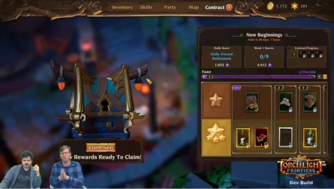 Contracts System Coming To Torchlight Frontiers, Think Battle Passes