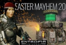 Celebrate Easter In Entropia Universe By Fighting Evil Robots