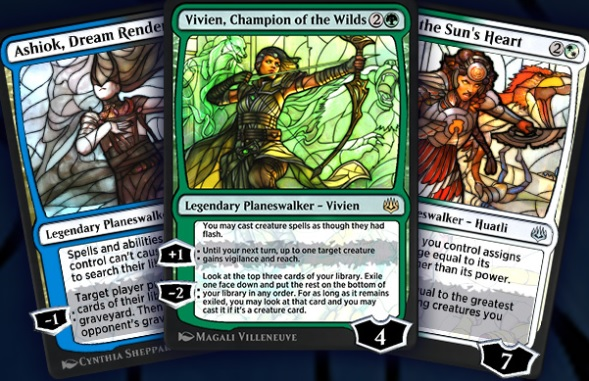 Earn Stained-Glass-Art Planeswalker Cards In MTG Arena's War of the Spark: Chronicles Event - MMO Bomb