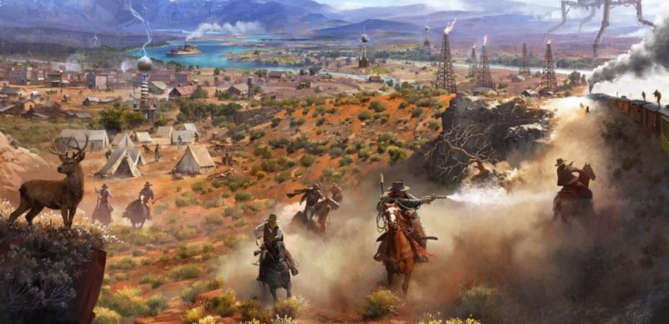 wild west online rebrands as survival battle royale game. Black Bedroom Furniture Sets. Home Design Ideas