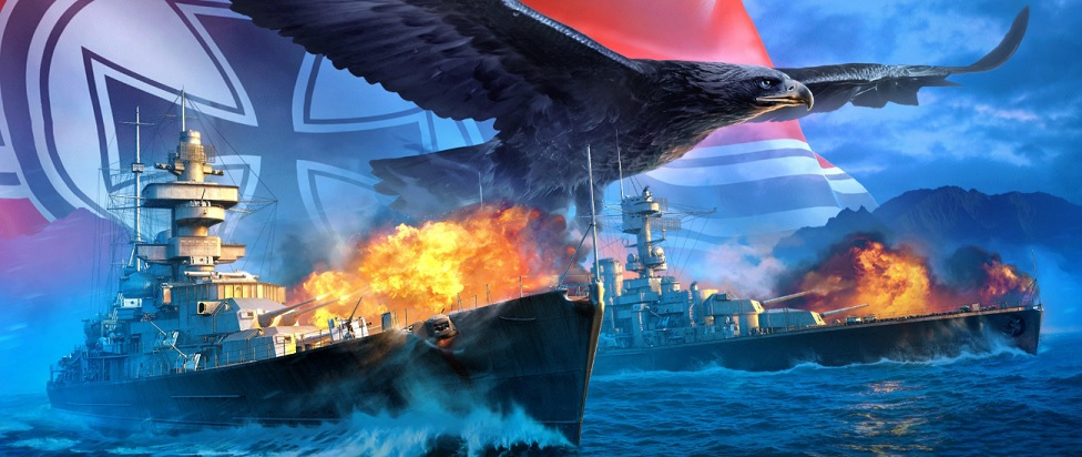 World Of Warships: Legends Adds German Ships And New