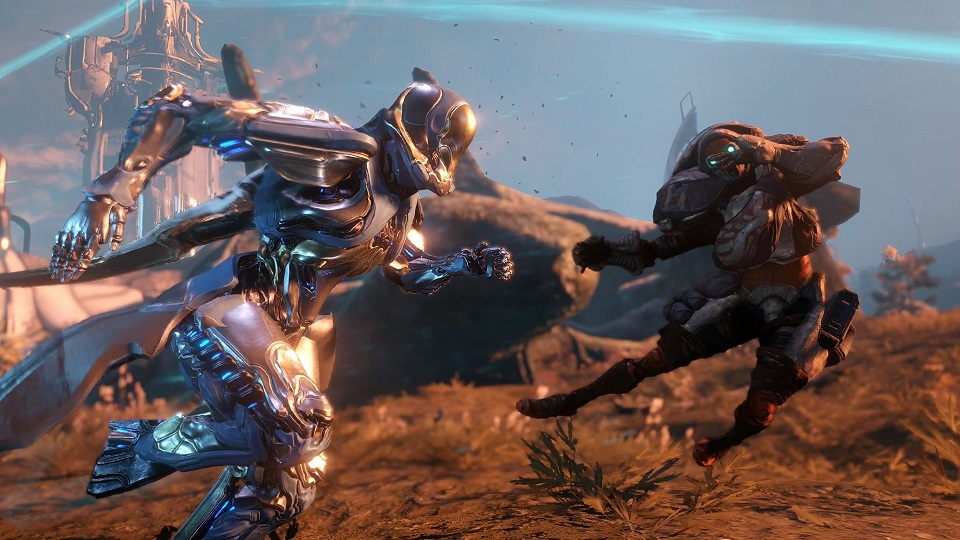 The 41st Warframe, Gauss, Arrives On PC This Week And It's Gotta Go Fast - MMO Bomb