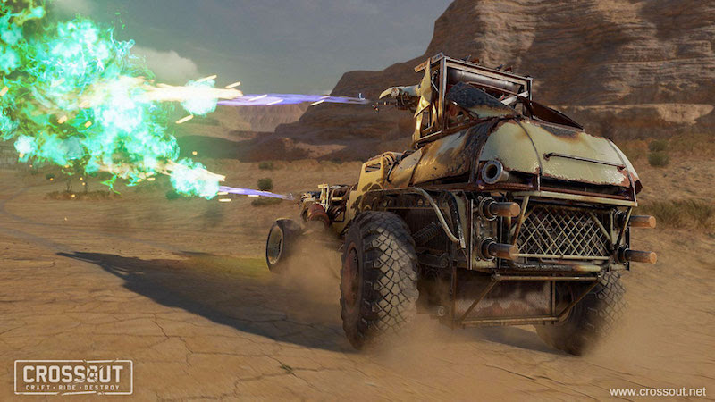 Crossout Adds Pestilence And Chemicals In Latest Update - MMO Bomb