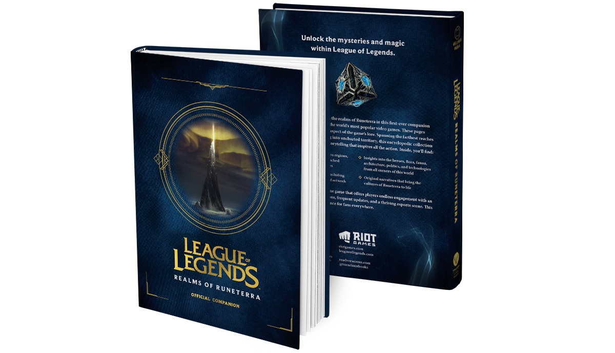 Explore The Realms Of Runeterra In Hardcover League Of Legends Lore And Art Book Mmo Bomb
