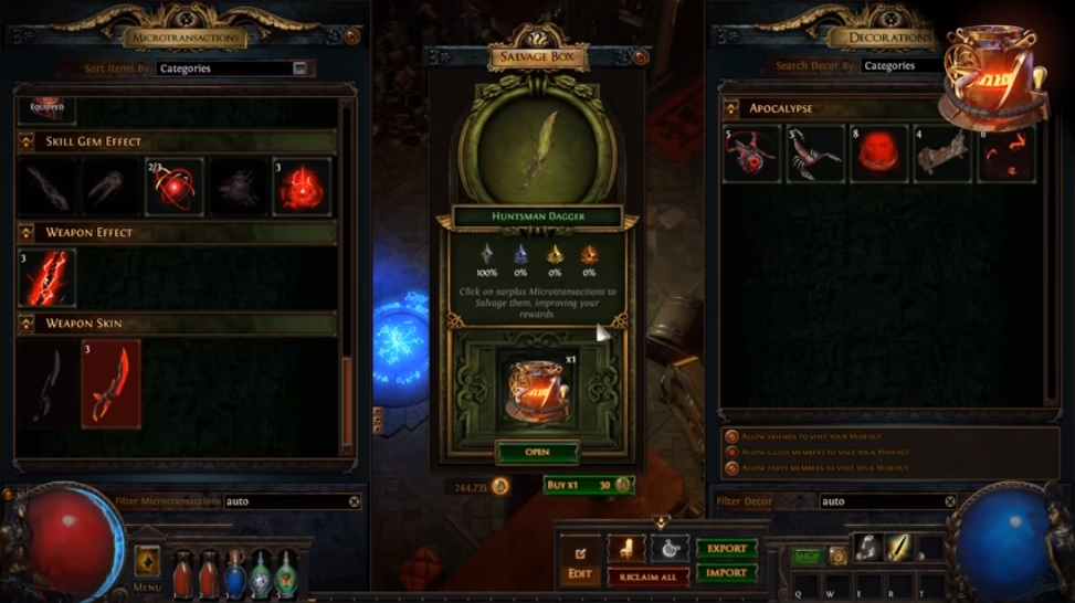 Path Of Exile Removes Controversial Nested Microtransaction Loot Box - MMO Bomb
