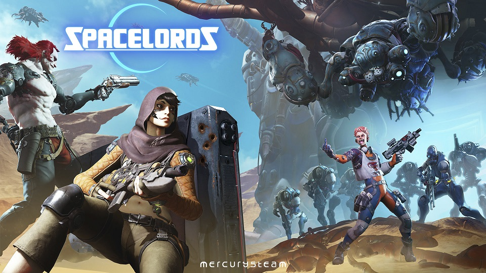 Spacelords U0026 39  Heavy Metal Update Offers New Talent Tree And Forge System For Greater Customization