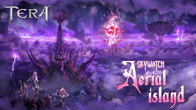 Skywatch: Aerial Island Floats Into TERA On PC - MMO Bomb