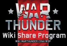 War Thunder Announces Wiki Share Program, With Premium Currency As A Reward
