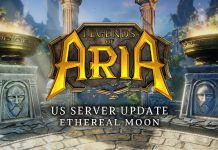 Legends Of Aria US Server Merge To Take Place November 15