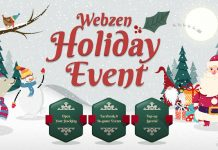 Webzen's Annual Holiday Event Is Under Way On Its Web Portal