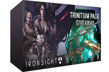 Ironsight Trinitium Pack Key Giveaway