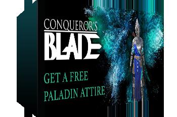 Conqueror's Blade: Paladin Attire Key Giveaway