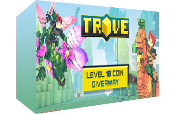 Trove: Level 10 Coin Key Giveaway