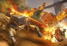 Crossout Adds Faction That Transforms Construction Vehicles Into Laser-Wielding Horrors