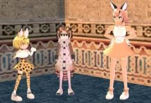 Mabinogi Teams With Animal Anime Girl Franchise Kemono Friends
