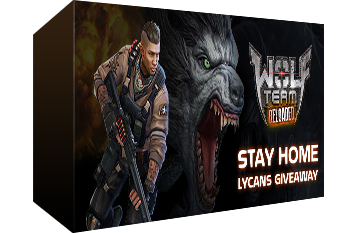 WolfTeam: Stay Home Lycans Gift Key Giveaway