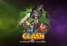 June Release Date Announced For Clash: Mutants VS Pirates MOBA