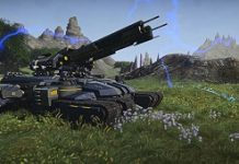 Mammoth Colossus Tank Lands In PlanetSide 2
