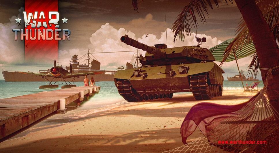 War thunder mmo game