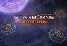 MMORTS Starborne Launches Dissidence Update, Adding New Map And Updating UI