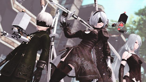 Pso2 Halloween Quest 2020 PSO2's Nier: Automata Crossover Begins Today, Halloween Event