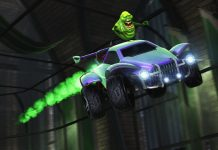 Rocket League's Haunted Hallows Event Brings The Ghostbusters Back