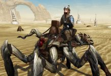 SWTOR's Ranked PvP Season 13 Rewards Include Cool Outfits And A Terrifying Spider Mount
