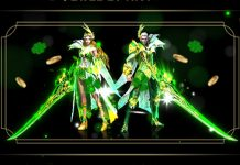 Fantasy MMO Dragon Awaken Celebrates 4 Years In Action And St. Patrick's Day